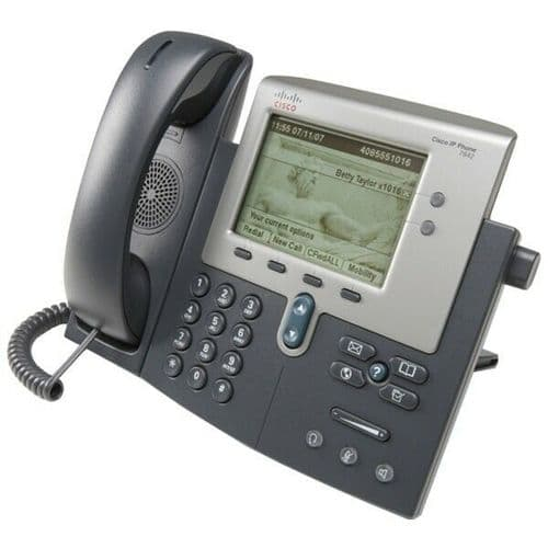 NEW Cisco CP-7942G 7942G Unified IP VoIP Corded Phone 68-3430-01